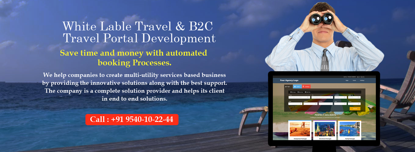 White Label travel portal solution