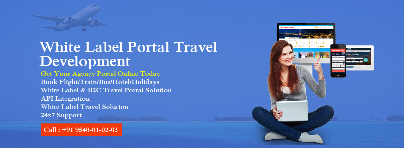 b2c white label travel portal